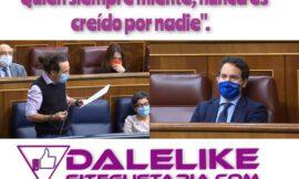 Pablo Iglesias cita en el congreso las 6 mayores mentiras del Partido popular.
