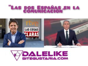 Jesús Cintora y Vicente Vallés. Las dos Españas en el periodismo.