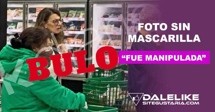 """Bulos e infamias: Foto de Yolanda Díaz """"sin mascarilla"""" fue manipulada por Okdiario"""