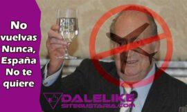 «Mientras gobernemos nosotros, Don Juan Carlos no volverá a España» Contundente respuesta de la Ministra Carmen Calvo al rey fugado