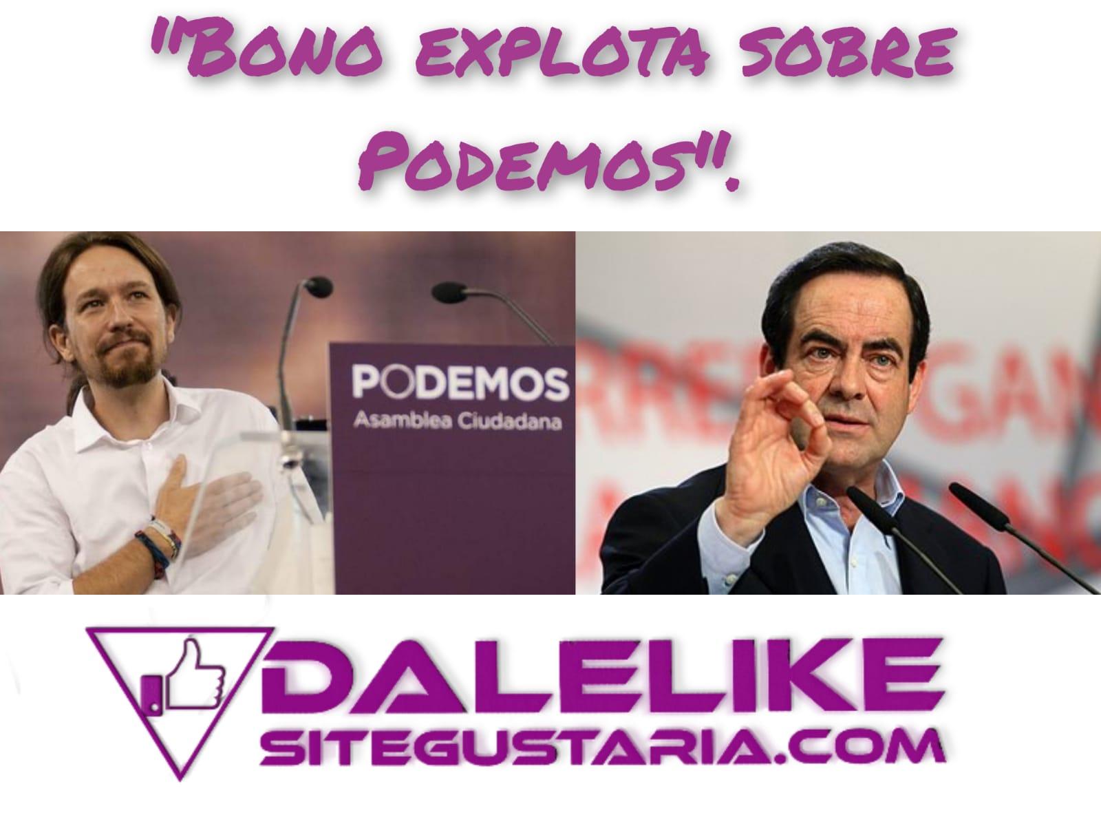 A José Bono se le calienta la boca y dice esto de Unidas Podemos.