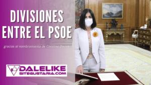 El nombramiento de la nueva ministra de Sanidad crea divisiones entre las alianzas del PSOE