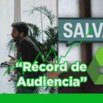 Pablo Iglesias bate records de audiencia para Gonzo en Salvados