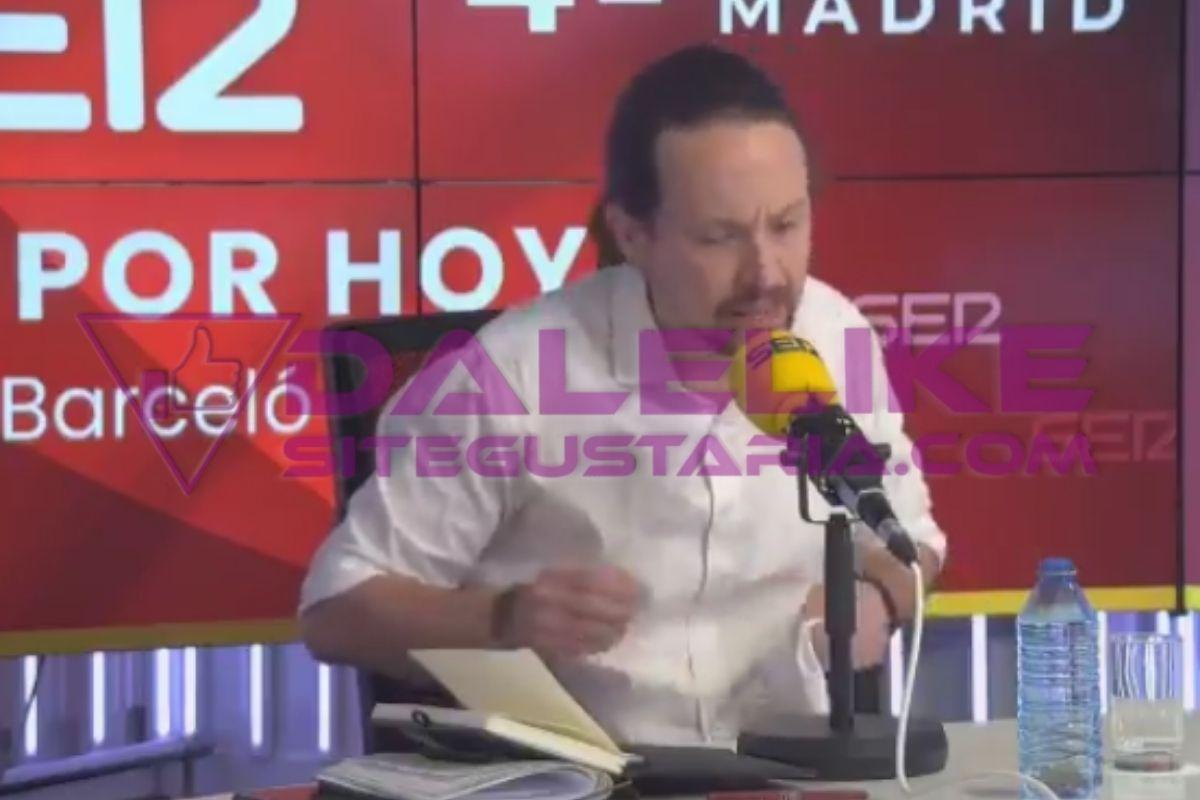 Amenazas de muerte y balas | ¿Por qué abandonó Pablo Iglesias el debate de la SER? (+VIDEO)