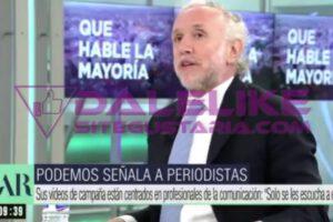 INSÓLITO | Estas fueron las acusaciones de Eduardo Inda que Pablo Iglesias llevará ante la justicia (+VIDEO)