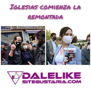 El efecto «Iglesias» acerca la victoria a la izquierda en Madrid.