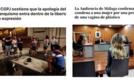 LA POLÉMICA | Justicia española declara al franquismo «libertad de expresión» y a las vaginas de plástico una grave ofensa (+FOTOS)
